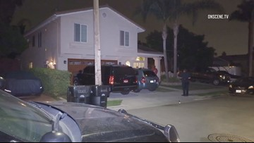 San Diego Police searching for 3 suspects in home invasion robbery