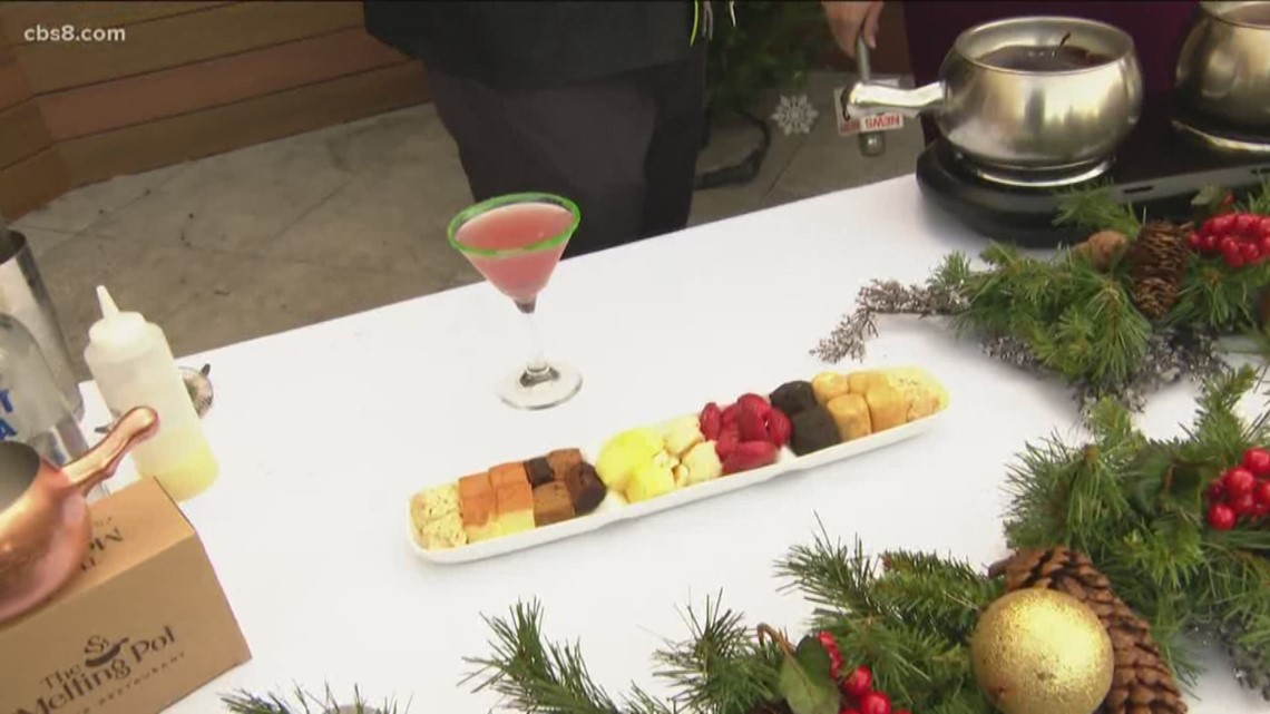Get in the holiday spirit at Toast of Gaslamp