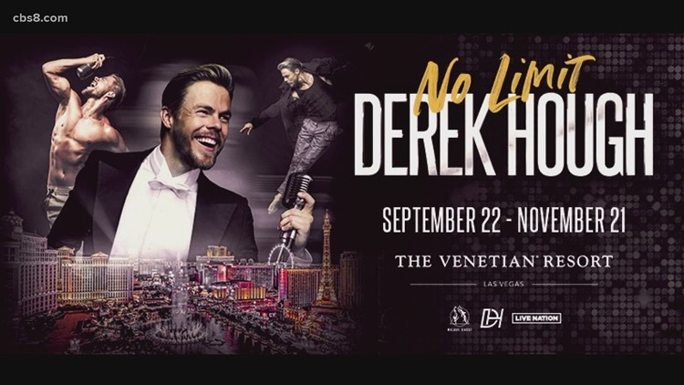 New show 'Derek Hough: No Limit' begins September 22