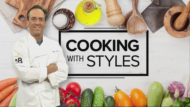 Cooking with Styles: Strawberry shortcake