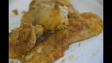 Gluten-free, egg-free, dairy-free chicken fingers