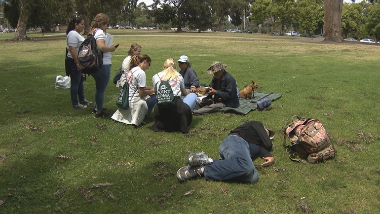 Local medical professionals hit the street to help the homeless