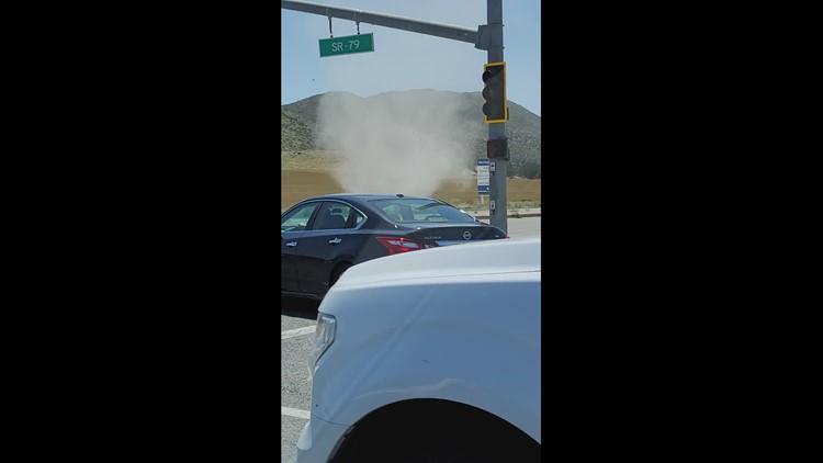 Dust Devil on Hwy 79