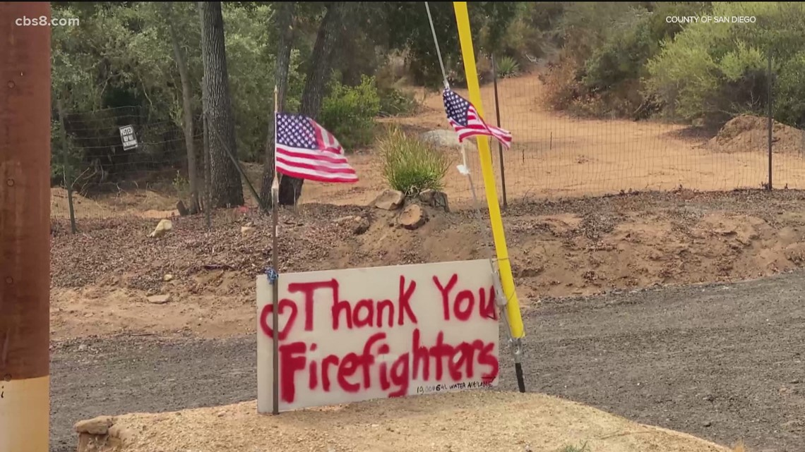Fire marshal assesses damage of Valley Fire