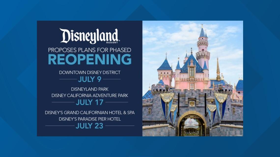 When Is Disneyland Reopening Cbs8 Com