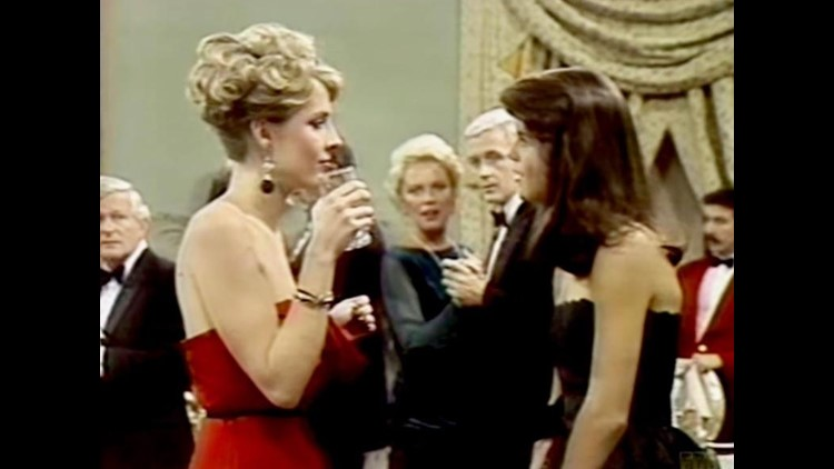 """Pamela Donnelly worked with Lori Loughlin in 1983 on the TV series """"The Edge of Night""""."""