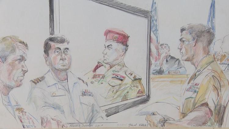 Edward Gallagher trial courtroom sketch - June 27, 2019