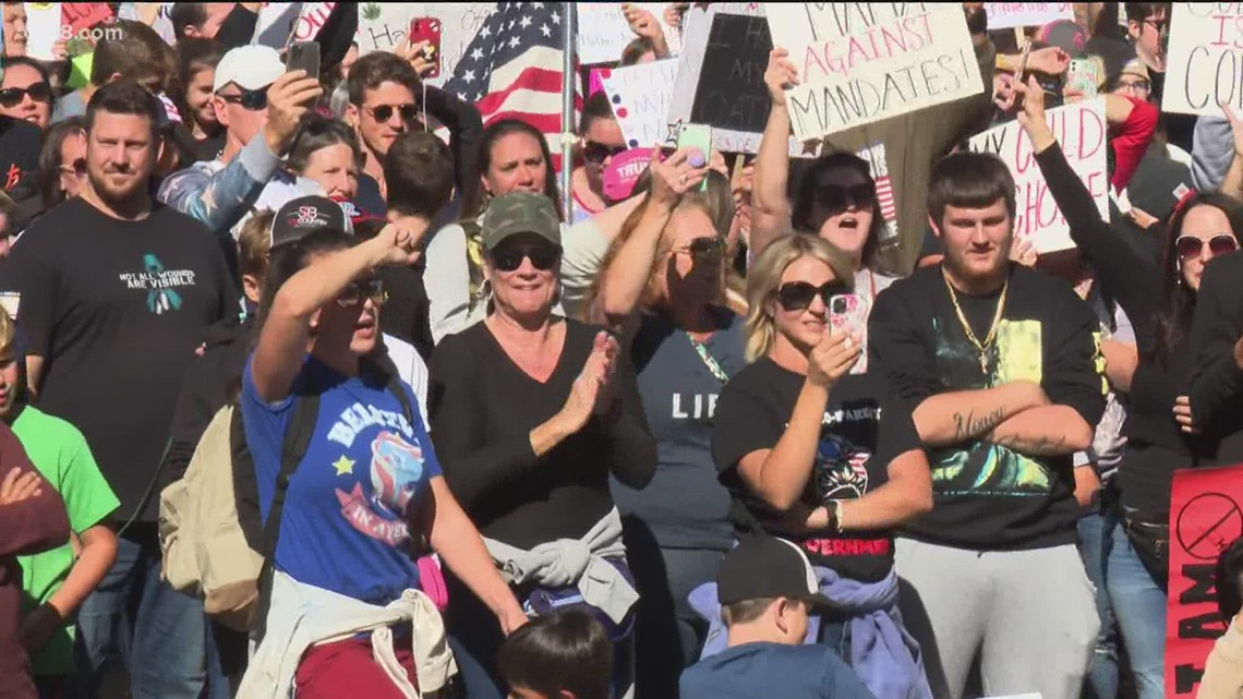 Thousands demonstrate in California against school vaccine mandates | Rynor Report