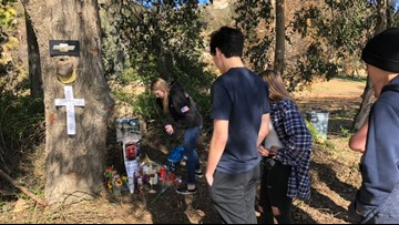 Lakeside community mourns 2 teens killed in crash, 2 others injured