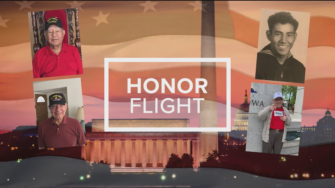 War veterans take off on one-of-a-kind Honor Flight