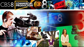 CBS 8 Commercial Production