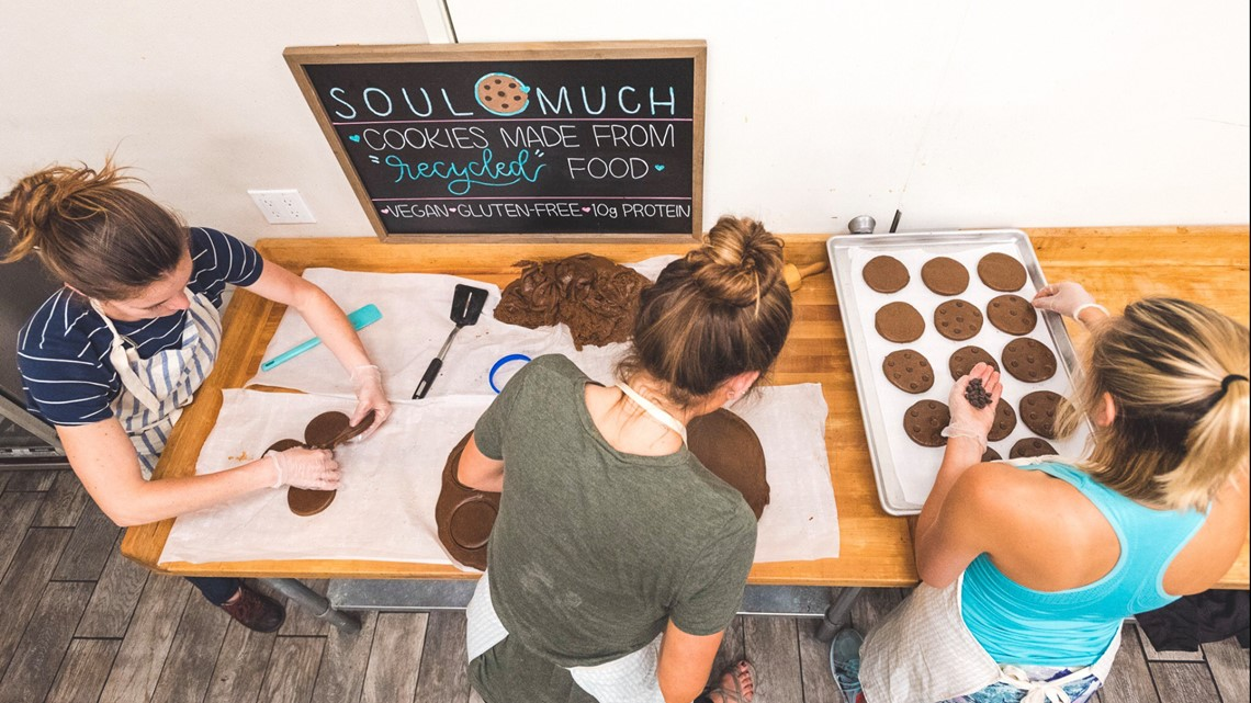 San Diego State student business turns rescued food into cookies