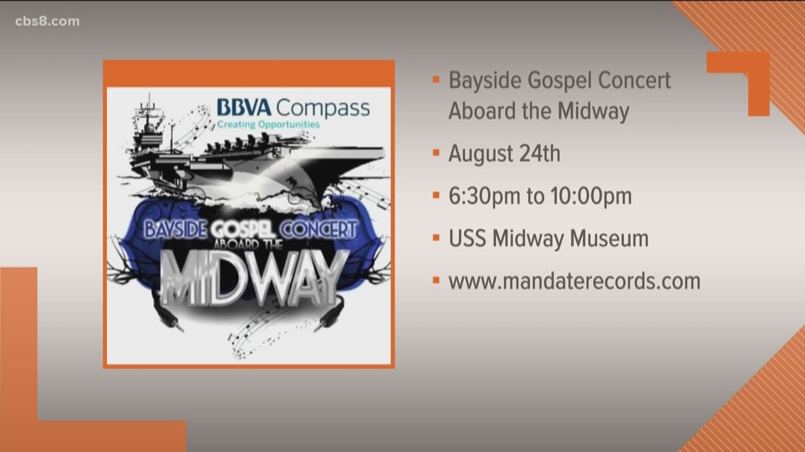 6th annual Bayside Gospel Concert aboard the Midway
