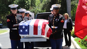 Lost WWII soldier laid to rest in San Diego