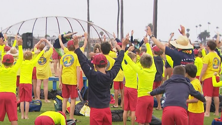 San Diego Fire-Rescue lifeguards host Hawaii Day Fundraiser