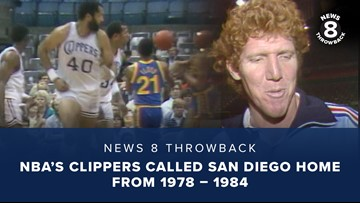 News 8 Throwback: NBA's Clippers called San Diego home from 1978 – 1984