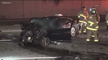 Wrong-way crash kills 2 along I-5 in Bankers Hill