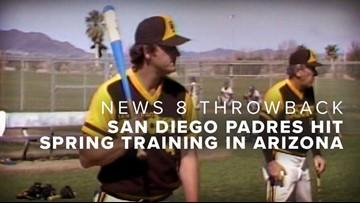 News 8 Throwback: San Diego Padres hit spring training in Arizona