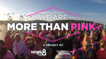 MORE THAN PINK. Help end breast cancer.