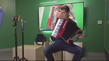 The accordion is making a comeback at the Museum of Making Music