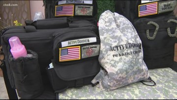 San Diego company creates diaper bags aimed for dads