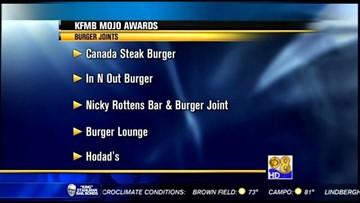 KFMB Mojo Awards - Sunday, August 4, 2013 - Burger Joints