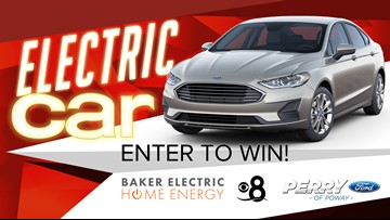 Electric Car Giveaway from Baker Electric Home Energy!