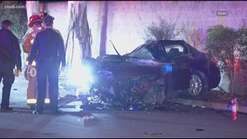 Driver dies in crash in La Mesa after fleeing from police