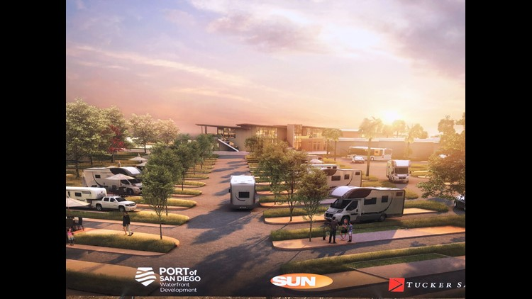 Chula Vista waterfront groundbreaking for an RV park