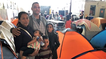 US citizen in Tijuana faces long wait for American dream