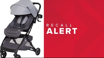 Baby Trend recalling 'Tango Mini Stroller' due to defective hinges