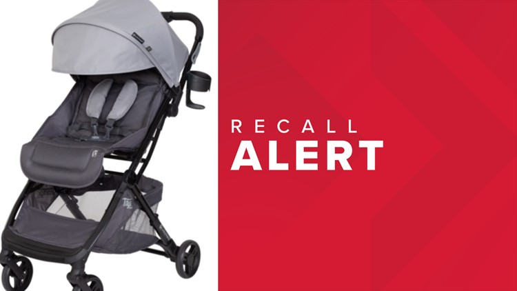 Baby Trend recalling 'Tango Mini Stroller' due to defective hinges