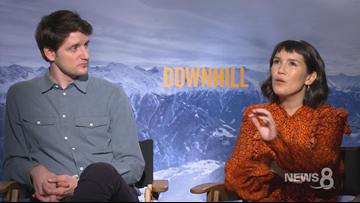Zach Woods and Zoe Chao star in 'Downhill'
