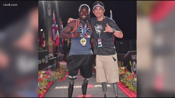 San Diego-raised athlete and double-amputee finishes Ironman race