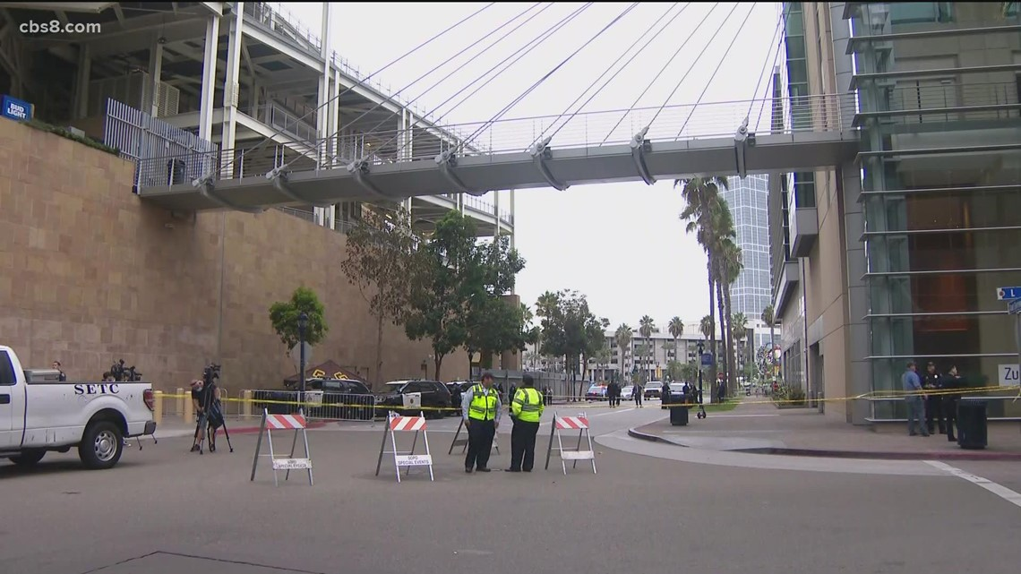 Woman, child die in fall from Petco Park prior to game