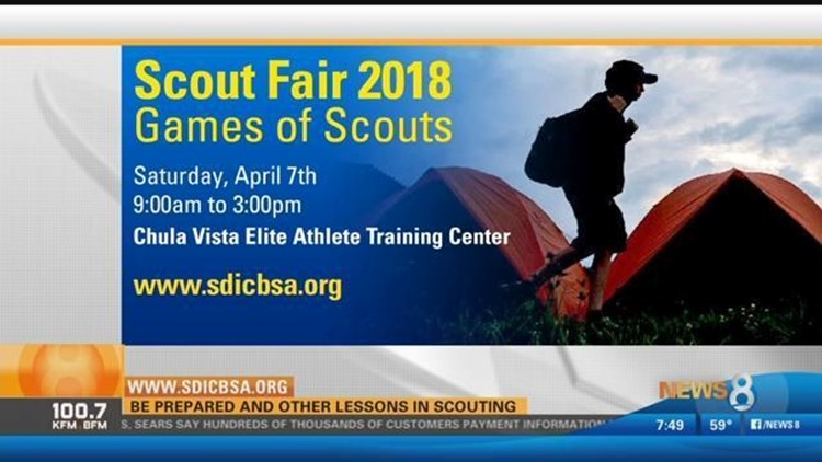 Council Scout Fair 2018