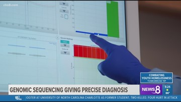 Growing Up San Diego: Genomic sequencing giving precise diagnosis