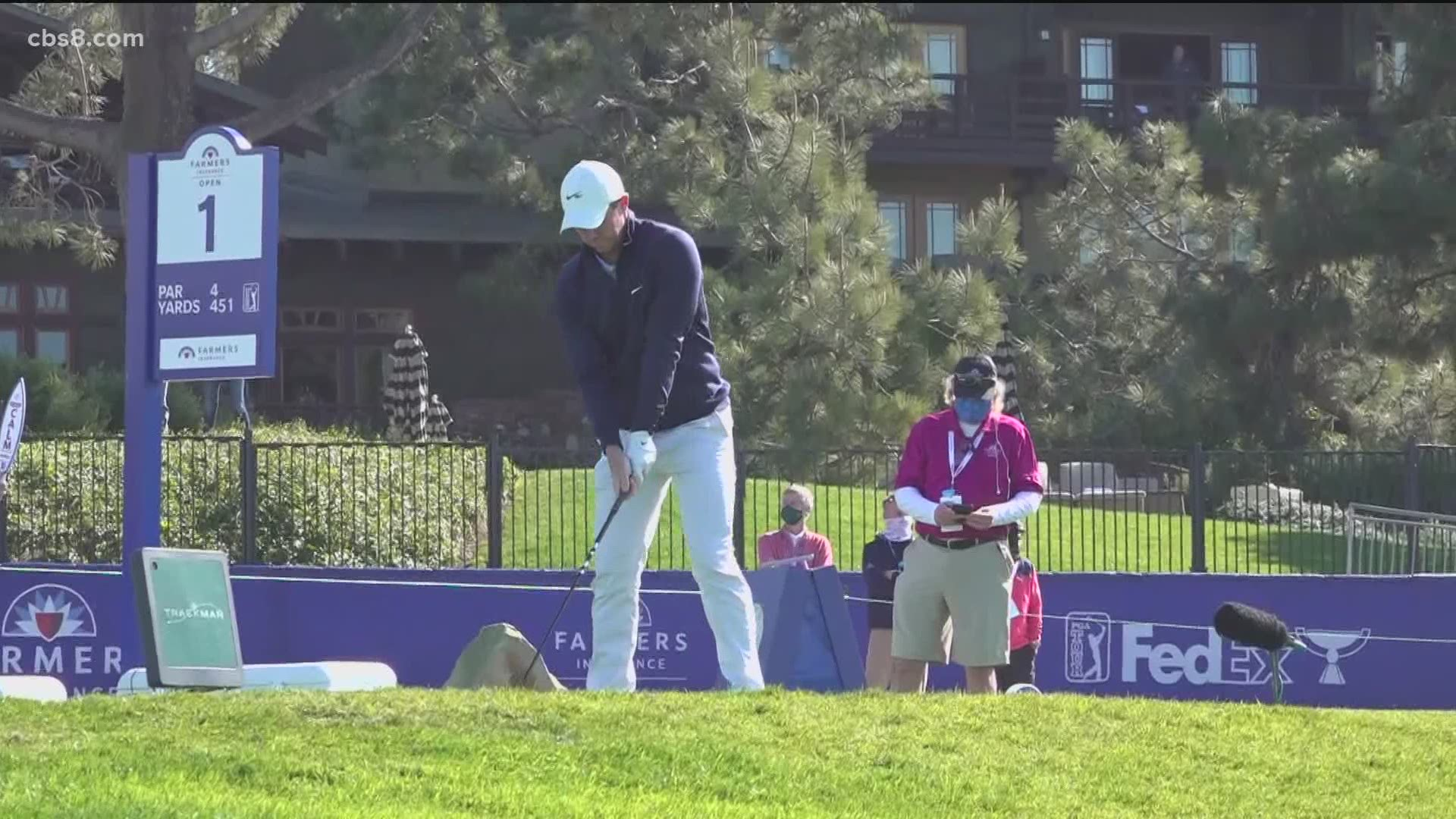 Farmers Insurance Open Begins Thursday At Torrey Pines Without Fans Cbs8 Com