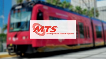 San Diego MTS announces reduced services in wake of rider declines, says one bus driver tested positive for COVID-19