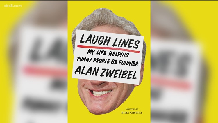 Comedian Alan Zweibel publishes new book named 'Laugh lines'
