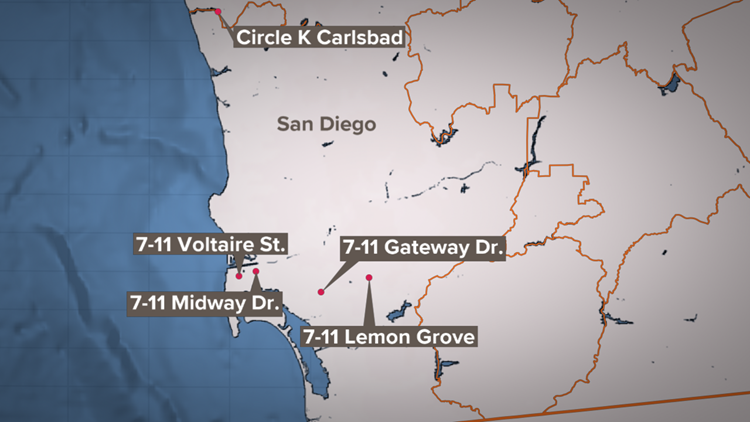 San Diego Robbery Series