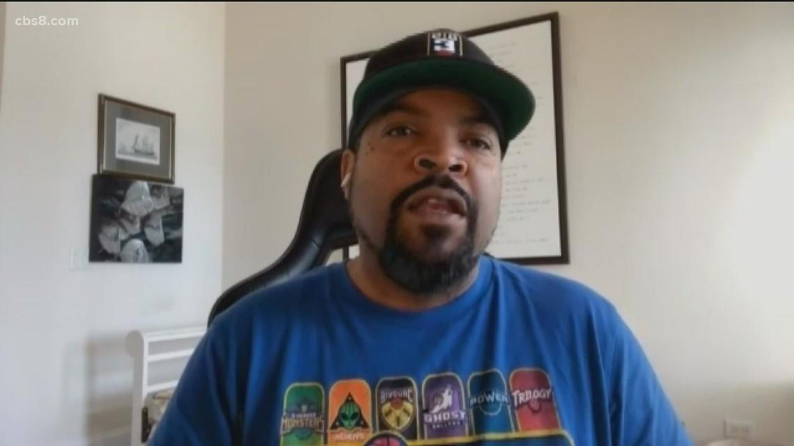 Ice Cube and Big Three Basketball