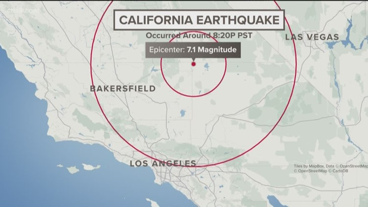 Powerful 7.1 earthquake hits California on July 5, 2019