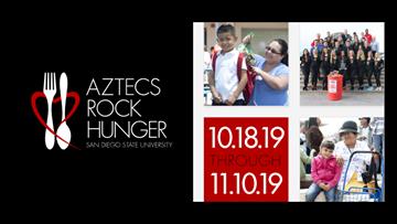 SDSU Aztecs Rock Hunger