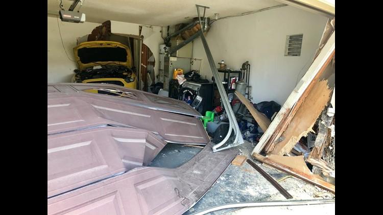 car into garage 1