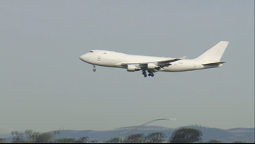 Plane carrying U.S. citizens from China arrives at MCAS Miramar