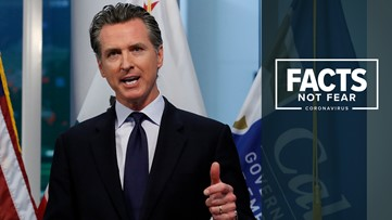 Governor Newsom sticking with mid-May as COVID-19 peak