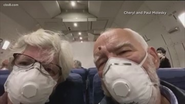 Quarantined evacuees from cruise arrive to U.S. amid COVID-19 outbreak
