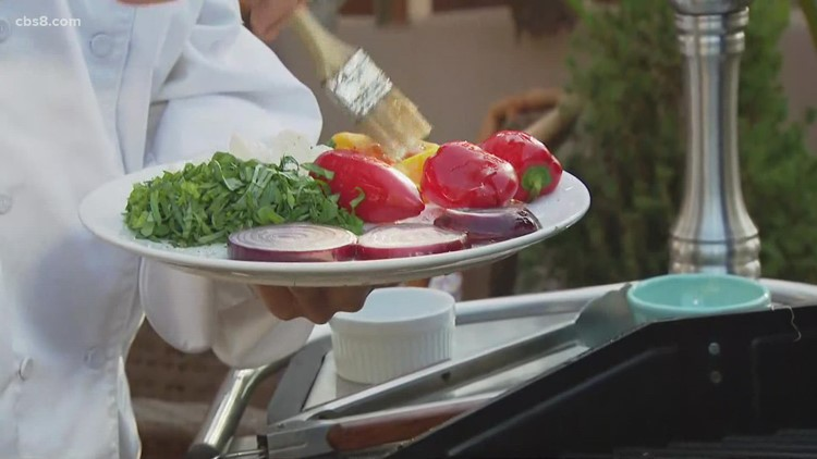 Grilling with Styles on Labor Day: Panzanella salad