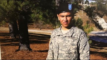 Somber service for U.S. Army veteran killed in wrong-way crash in Chula Vista